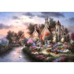 Puzzle  Grafika-Kids-01879 XXL Teile - Dennis Lewan - Mill Creek Manor