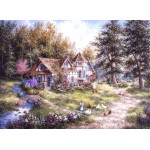 Puzzle  Grafika-Kids-01880 Dennis Lewan - Glacier Ridge Manor