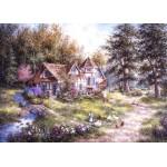 Puzzle  Grafika-Kids-01882 Magnetische Teile - Dennis Lewan - Glacier Ridge Manor