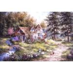 Puzzle  Grafika-Kids-01884 XXL Teile - Dennis Lewan - Glacier Ridge Manor