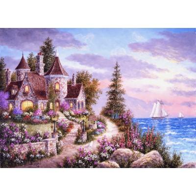Puzzle  Grafika-Kids-01897 Magnetische Teile - Dennis Lewan - Belle d'Amour