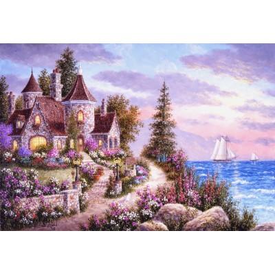 Puzzle  Grafika-Kids-01899 XXL Teile - Dennis Lewan - Belle d'Amour