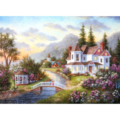 Puzzle  Grafika-Kids-01910 Dennis Lewan - Angels of the Evening
