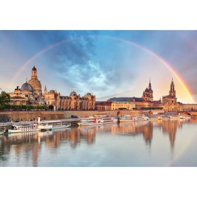 Puzzle  Grafika-Kids-01930 Deutschland Edition - Skyline Dresdener Altstadt