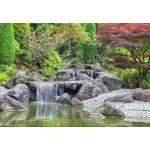 Puzzle  Grafika-Kids-01932 Deutschland Edition - Wasserfall im japanischen Garten, Bonn