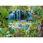 Puzzle  Grafika-Kids-01943 François Ruyer - Wasserfall