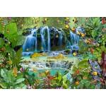 Puzzle  Grafika-Kids-01947 XXL Teile - François Ruyer - Wasserfall