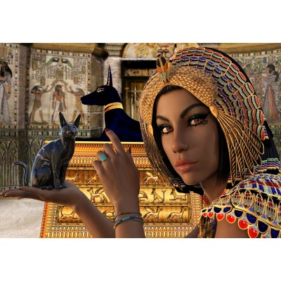 Puzzle  Grafika-Kids-01961 Nefertiti