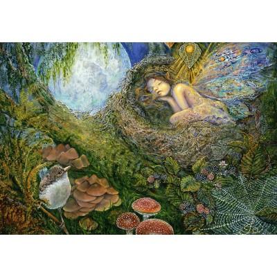 Puzzle  Grafika-Kids-01965 Josephine Wall - Fairy Nest