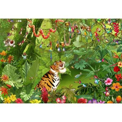Puzzle  Grafika-Kids-01968 François Ruyer - Jungle