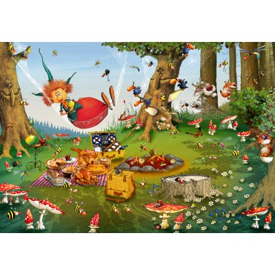 Puzzle  Grafika-Kids-01971 François Ruyer - Hexe