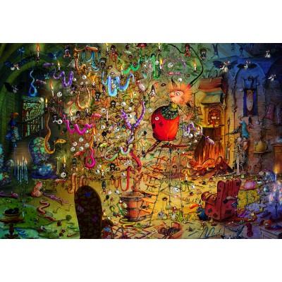 Puzzle  Grafika-Kids-01973 François Ruyer - Hexe