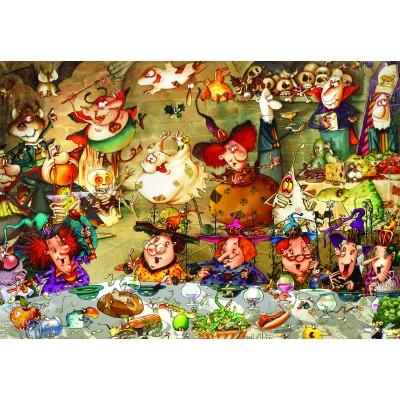 Puzzle  Grafika-Kids-01976 François Ruyer - Hexen