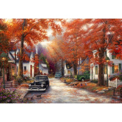 Puzzle  Grafika-Kids-02002 Chuck Pinson - A Moment on Memory Lane