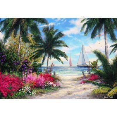 Puzzle  Grafika-Kids-02024 Chuck Pinson - Sea Breeze Trail