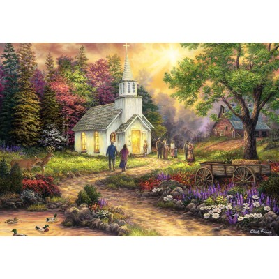 Puzzle  Grafika-Kids-02033 Chuck Pinson - Strength Along the Journey