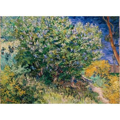 Puzzle  Grafika-Kids-02038 Vincent Van Gogh - Flieder, 1889