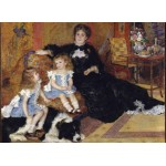 Puzzle  Grafika-Kids-02040 Auguste Renoir - Frau Charpentier und ihre Kinder, 1878