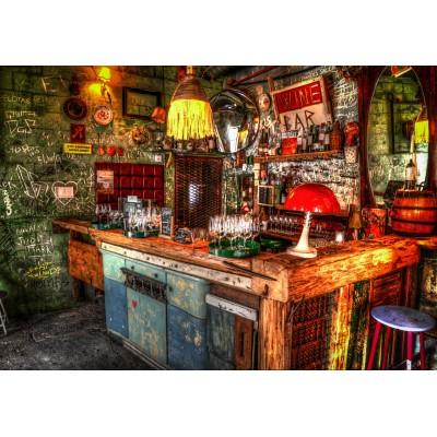 Puzzle  Grafika-Kids-02050 Ruin Bar in Budapest
