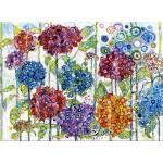 Puzzle  Grafika-Kids-02077 Sally Rich - Summer Hydrangeas