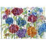 Puzzle  Grafika-Kids-02078 Sally Rich - Summer Hydrangeas