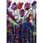 Puzzle  Grafika-Kids-02084 Sally Rich - Tulips