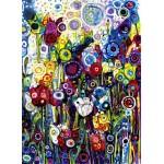 Puzzle  Grafika-Kids-02089 Sally Rich - Spring Tulips