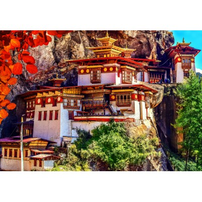 Puzzle  Grafika-Kids-02098 Taktshang, Bhutan