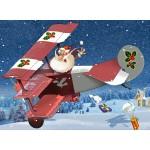 Puzzle  Grafika-Kids-02103 François Ruyer - Weihnachtsmann