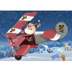 Puzzle  Grafika-Kids-02104 François Ruyer - Weihnachtsmann