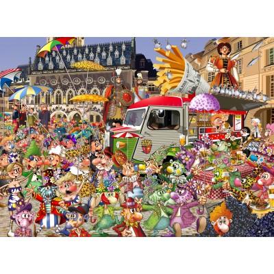 Puzzle  Grafika-Kids-02112 Braderie von Lille