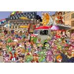 Puzzle  Grafika-Kids-02113 Braderie von Lille