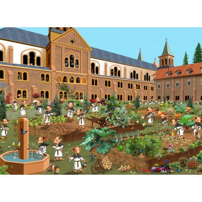 Puzzle  Grafika-Kids-02119 Kloster