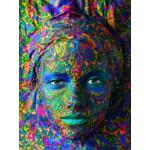 Puzzle  Grafika-00003 Face Art:  Portrait einer Frau