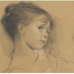 Puzzle  Grafika-00004 Gustav Klimt: Annerl - 1885