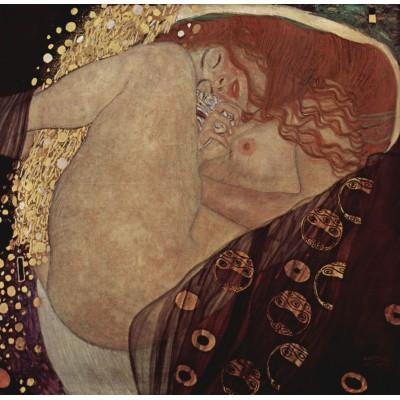 Puzzle Grafika-00013 Gustav Klimt: Danaé, 1907-1908