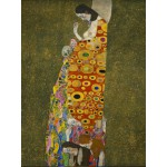 Puzzle  Grafika-00017 Gustav Klimt: Die Hoffnung II, 1907-1908