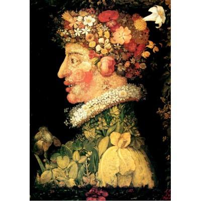 Puzzle  Grafika-00018 Giuseppe Arcimboldo: Der Frühling