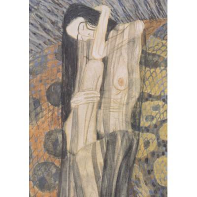 Puzzle  Grafika-00027 Gustav Klimt, 1902
