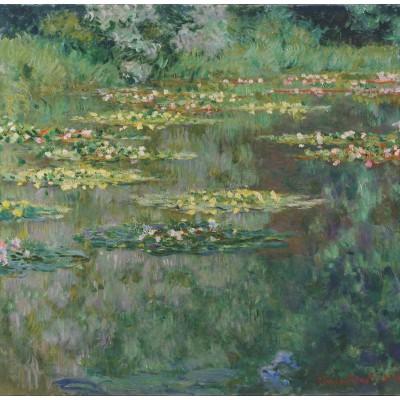 Puzzle Grafika-00040 Claude Monet: Le Bassin aux Nymphéas
