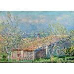 Puzzle  Grafika-00049 Claude Monet: La Maison du Jardinier à Antibes, 1888