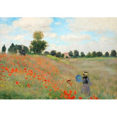 Puzzle Grafika-00057 Claude Monet: Coquelicot, 1873