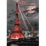 Puzzle  Grafika-00075 George Garen - Eiffelturm