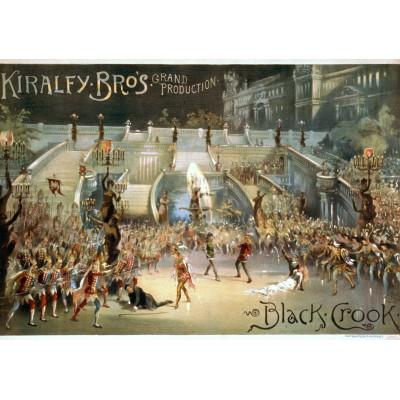 Puzzle  Grafika-00082 The Black Crook, 1866