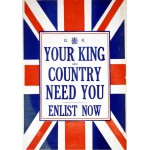 Puzzle  Grafika-00088 Your King and Country need You - Enlist now!