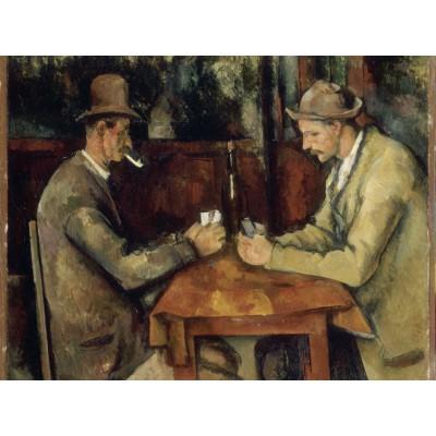 Puzzle  Grafika-00098 Paul Cézanne: Les Joueurs de Cartes, 1894-1895