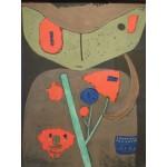 Puzzle  Grafika-00104 Paul Klee: Figur des Östlichen Theaters, 1934