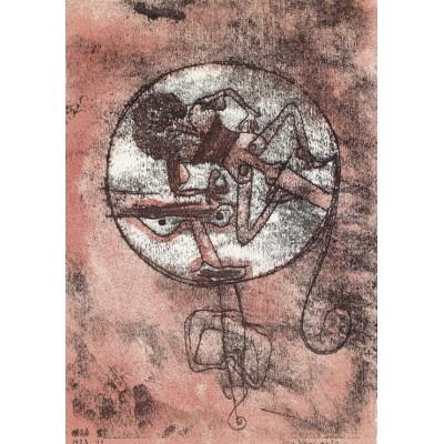 Puzzle  Grafika-00106 Paul Klee: Der Verliebte, 1923