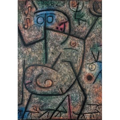 Puzzle  Grafika-00109 Paul Klee: O! die Gerüchte!, 1939