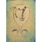 Puzzle  Grafika-00113 Paul Klee: Die Anfänge von einem Lächeln, 1921